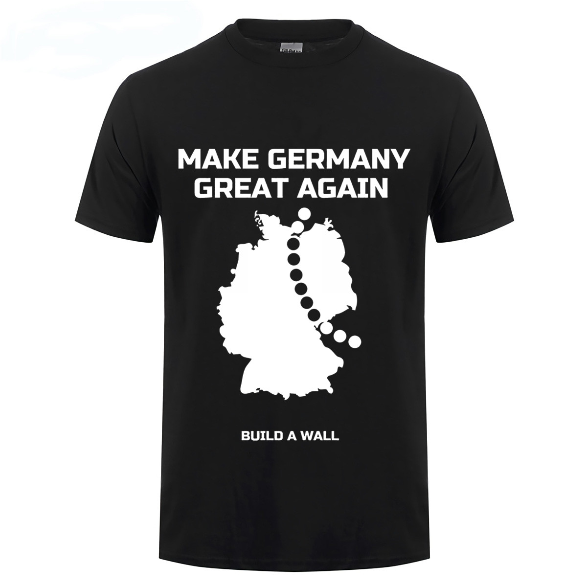 "PART 3 - CONTINUED: America Warned Is Unprepared For Q & Trump's Cataclysmic Destruction Of ""Deep State"" Make-Germany-Great-Again-and-build-a-Wall-funny-T-Shirt"
