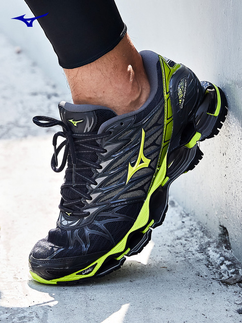 0105d6135948 New Original Mizuno Prophecy 7 Running Shoes For Men Wave Cushion Sneakers  Breathable Sports Shoes J1GC180050