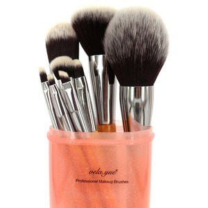 Image 5 - vela.yue Makeup Brush Set  12 pieces Cruelty Free Full Function Face Cheek Eyes Lips Beauty Tools Kit with Case