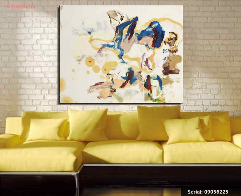 William de Kooning nature morte classique peinture à l'huile dessin art Spray sans cadre toile paysage conception fil de fer wall09056225