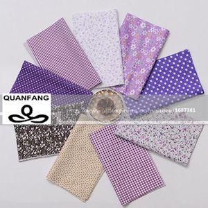 Image 2 - Random Thin Cotton Fabric Patchwork For Sewing Scrapbooking Fat Quarters Tissue Quilt Pattern Needlework Scraps 80pcs 20*24cm