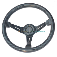 Универсальный 70 мм PCD Автомобильный руль глубина углеродного волокна гоночный руль