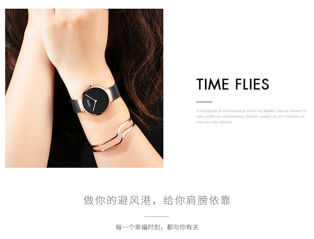 LOREO Moda Senhoras Relógios de Quartzo Relógio