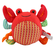Cute Crab Plash Toy Cartoon Skip Baby Hairy Sea Doll Cushion Hold Pillow Stuffed Toys Child Birthday Gift