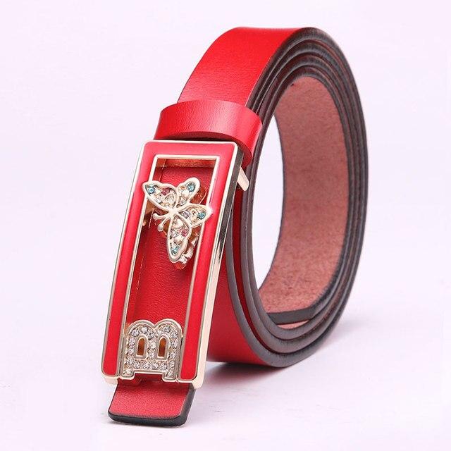 Женщин вскользь кожаный ремень скота кожаный ремень узкий все матч моды дамы ремни прилив оптовых производителей