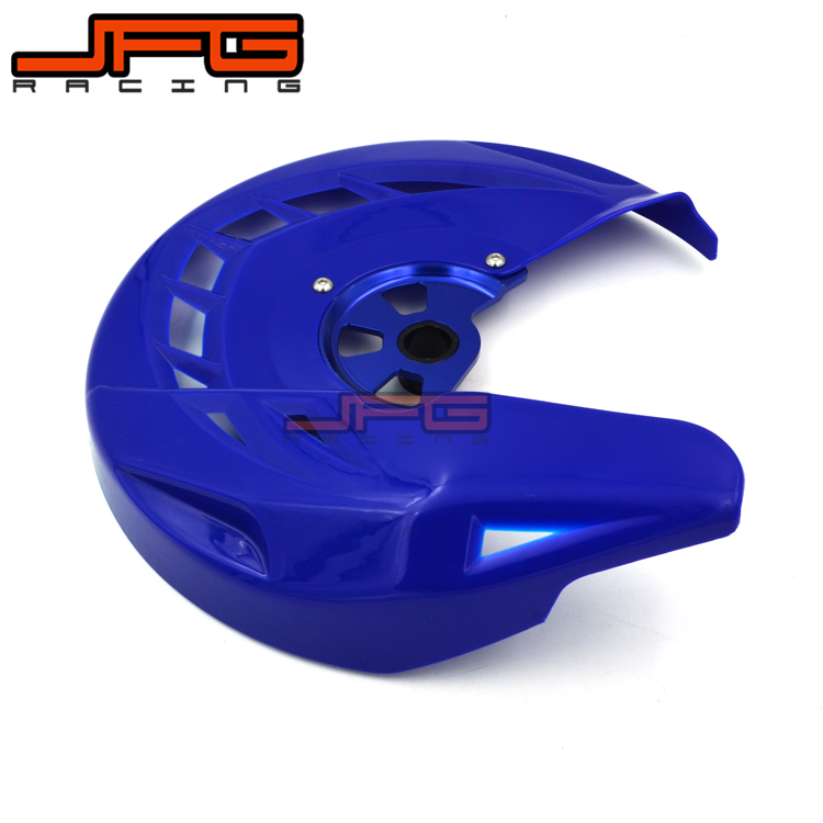X-Brake Front Brake Disc Rotor Guard Cover Protector Protection For YZ YZF WRF YZF250 YZF450 WRF250 WRF450 YZ125 YZ250 07-13 front wave disc brake yz yzf wrf yz250 yzf250 yzf450 wrf250 wrf450 motocross enduro supermotard motocross motorcycle