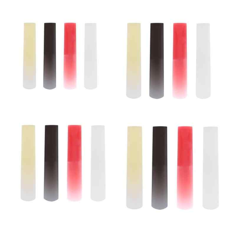 Hight Qualitity Resin Plastic Sax Saxophone Reed Woodwind Instrument Parts Accessories Clarinet/Soprano/Alto/Tenor Sax 4 Colors