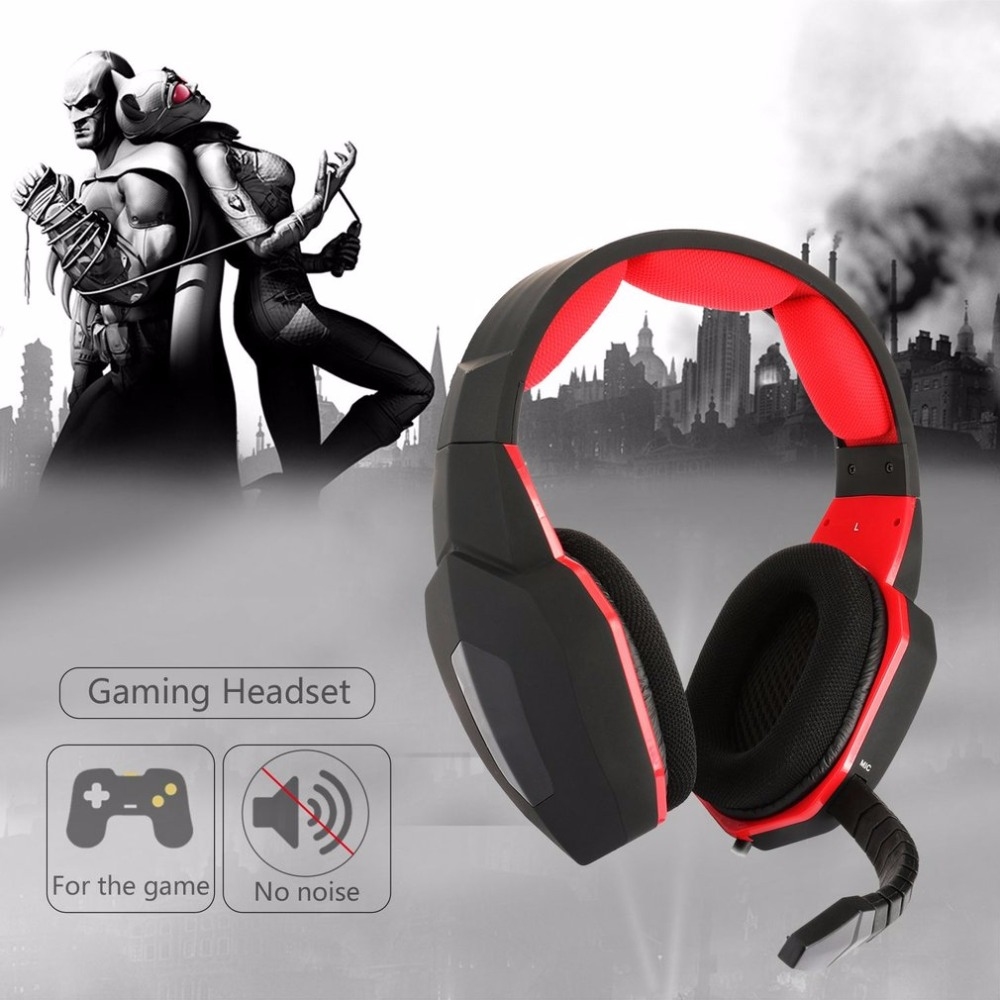 Gaming Headphones Stereo Bass Headset Detachable Wired Gamer Headset Professional Headphone Suitable for XBOX ONE for PS4 ...
