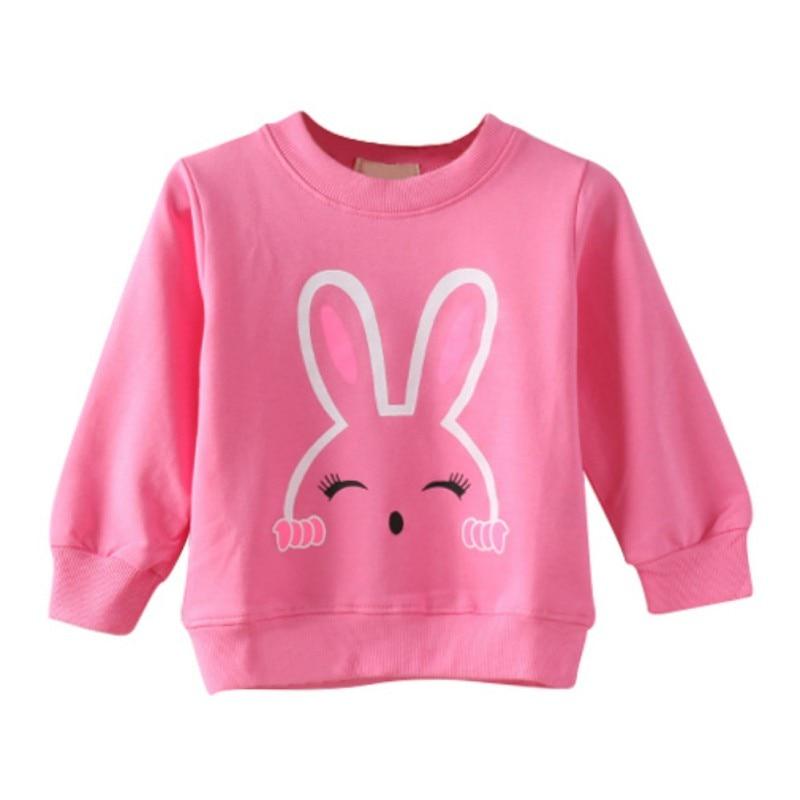 Toddler Boy Girl Baby O-Neck Sweatshirt Cartoon Animal Tops Sweat Shirts Clothes