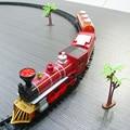 Kids electric Railway train Toys Classical Enlighten Train Track 17 pcs/set Model Railroad 1/87 Toys Train Electric Rail Car