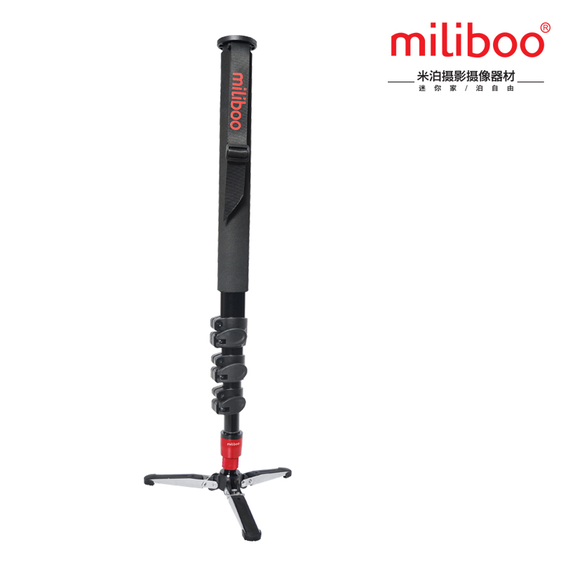 miliboo MTT705A(without head) Portable Aluminium Monopod for Professional Camcorder/Video/Camera/DSLR Tripod Stand aluminium alloy professional camera tripod flexible dslr video monopod for photography with head suitable for 65mm bowl size