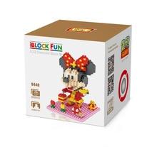 LOZ 9439 New Year's Greetings Plutus Minnie Diamond Bricks Minifigures Building Block Best Toys Compatible with Legoe