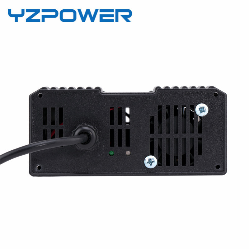 Image 2 - YZPOWER 50.4V 6.5A 7A 7.5A 8A Electric Power Lithium Lypomer Li Ion Battery Charger for 44.4V Ebike Chargeur Pile-in Chargers from Consumer Electronics