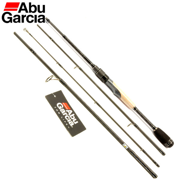 100 original abu garcia 4 sections carbon spinning for Garcia fishing pole