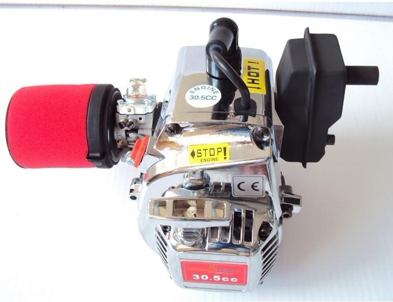 30.5cc chrome ENGINE fit BAJA 5B 5T.fit 1:5 gas rc car aluminum water cool flange fits 26 29cc qj zenoah rcmk cy gas engine for rc boat