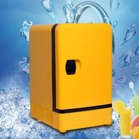 CBJ Auto Car Refrigerator Fridge 7L Cooler And Heating Box Dual Use Home Car 220V 12V