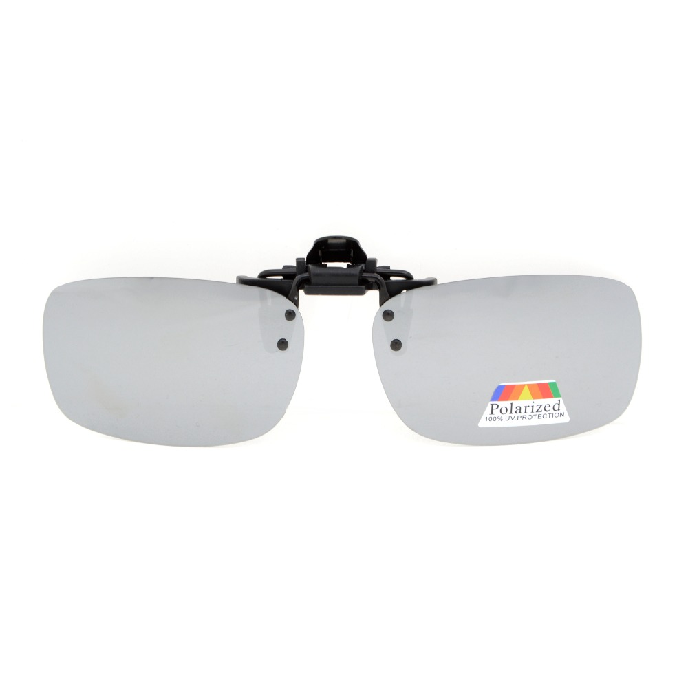 e5d9a5280a JQ2 Eyekepper Flip up Clip on Sunglasses Polarized 59x39 MM 3 Pack Metal  Glasses Clip-in Sunglasses from Apparel Accessories on Aliexpress.com