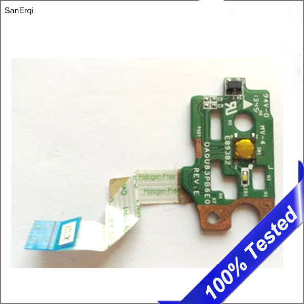 Computer & Office Genuinepower Switch Button Board For Hp Pavilion 15-n 14-n 15-f Daou83pb6ec Power Switch Button Board On/off Series