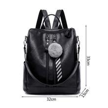 Fashion Women Lady School Leather Girls Backpack Travel Handbag Shoulder Bag Antitheft Rucksack
