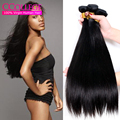 "Top Hair Extensions Peruvian Virgin Hair Straight 4 Bundles Lot 8""-30"" Peruvian Straight Virgin Hair Milky Way Human Hair Weave"