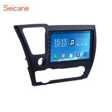 Seicane Android 6.0/7.1 9 inch Car Radio For 2014 2015 2016 2017 HONDA CIVIC Touchscreen GPS Head Unit Multimedia Player