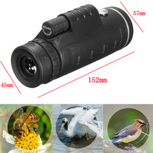 On sale New 40×60 HD Monocular BAK-4 Prism With Tripod Camera Lens Clip For Hunting Bird Watching Photographing Telescope
