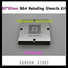 80--80mm Reballing-Station Laptop/notebbok Templates Stencils Repairing BGA for Dedicated