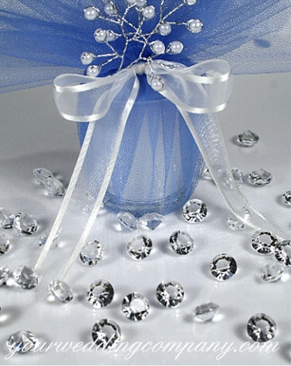 clearance sale 80mm2 carat diamond confetti faux diamond table scatter for