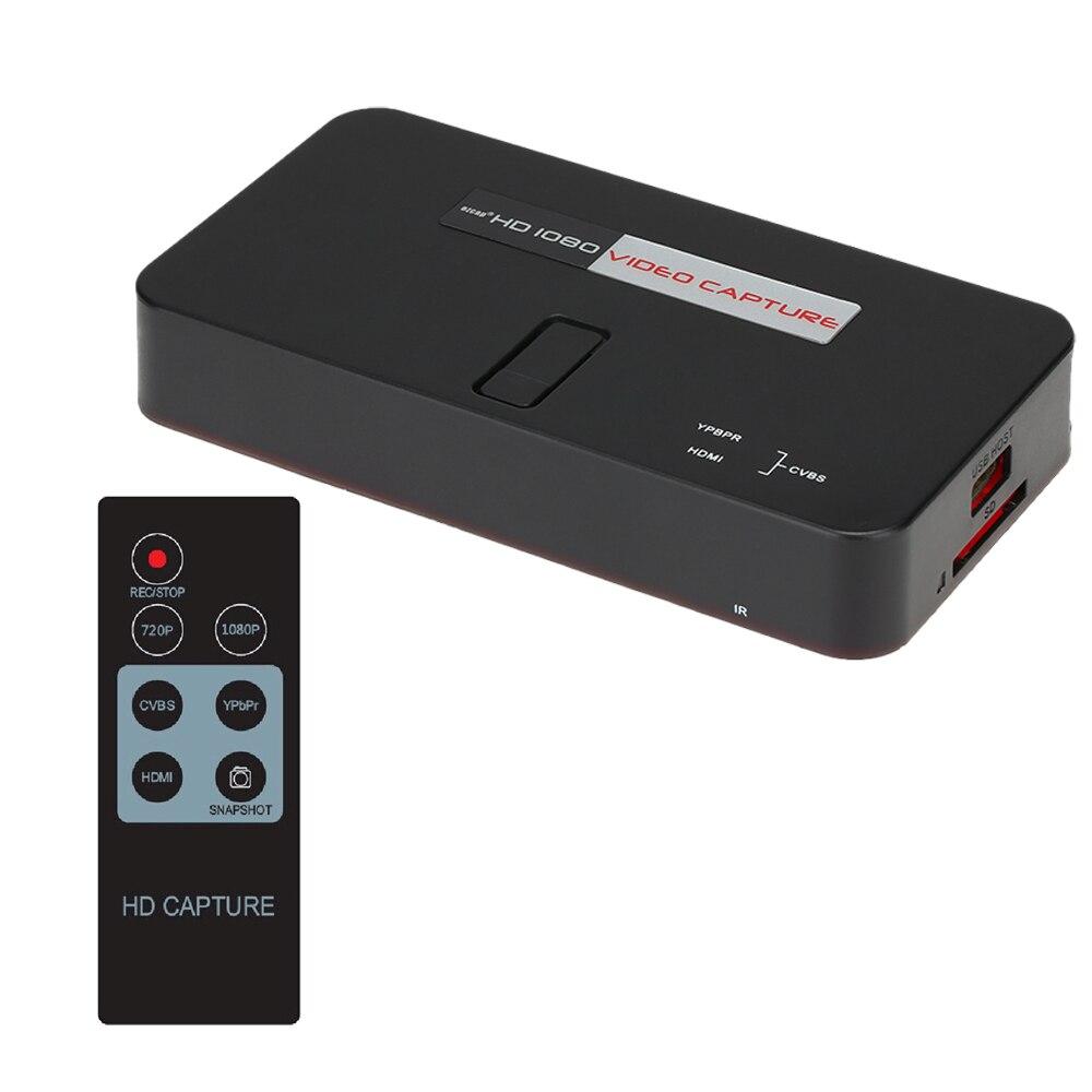 Ezcap 284 HDMI 1080P HD Video Capture Card with HDMI AV Ypbpr Input HDMI Output Save