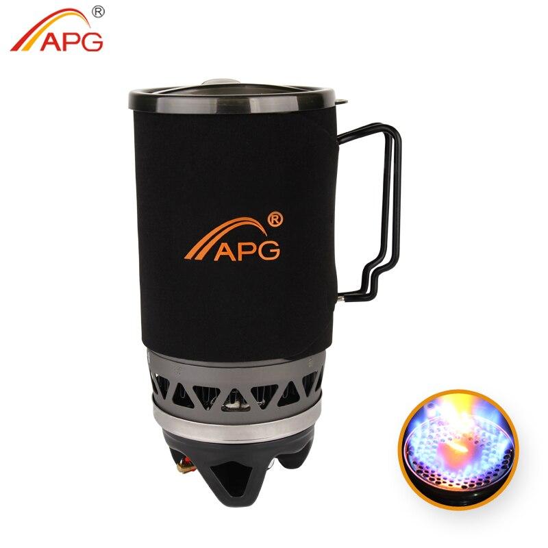 APG 1100 ml Sistema e bruciatori a gas portatile stufa a gas da campeggio fuochi di cottura