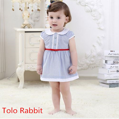 Baby Girl Dress Summer 2016 baby Brand Dress Kid Clothes Vestidos Children Dress Princess Party Dresses for Girls 1-3 years
