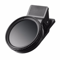 ZOMEi Universal Adjustable Neutral Density Filter Lens Clip On ND 2 400 Filter Camera Phone Lens