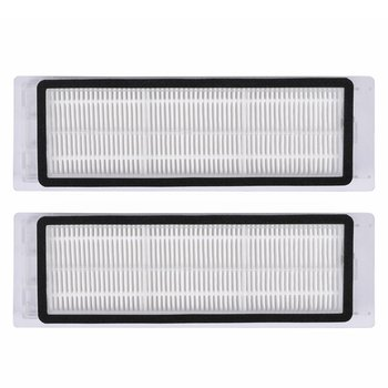 Replacement 2pcs Washable HEPA Filter for Robot 1 2nd Generation home Sweeping Robot Vacuum Cleaner Parts free shipping vacuum cleaner parts hepa filter replacement filter screen for philips robot fc8820 fc8810