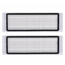 цена на Replacement 2pcs Washable HEPA Filter for XIAOMI MI Robot 1 2nd Generation Mi home Roborock Sweeping Robot Vacuum Cleaner Parts