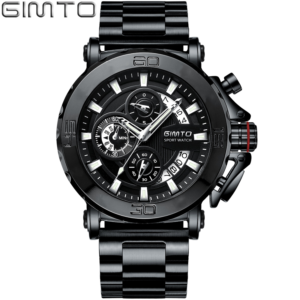 2018 Top Brand Cool Sport Men Watch Luxury Steel Army Military Male Quartz Wrist Watches Waterproof Man Gold Black Clock relogio curren brand design new 2016 sport steel clock quality steel military man male luxury gift wrist quart business army watch 8056
