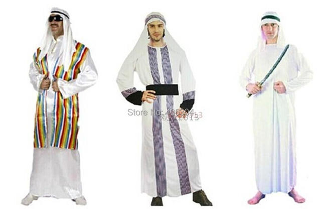 Free shipping halloween party dress up costume adult men middle free shipping halloween party dress up costume adult men middle east dubai prince arabian costume sciox Images