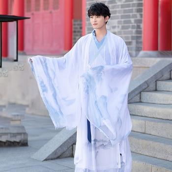 2020 adult  hanfu men's martial arts style couples set han element graduation class service daily cosplay