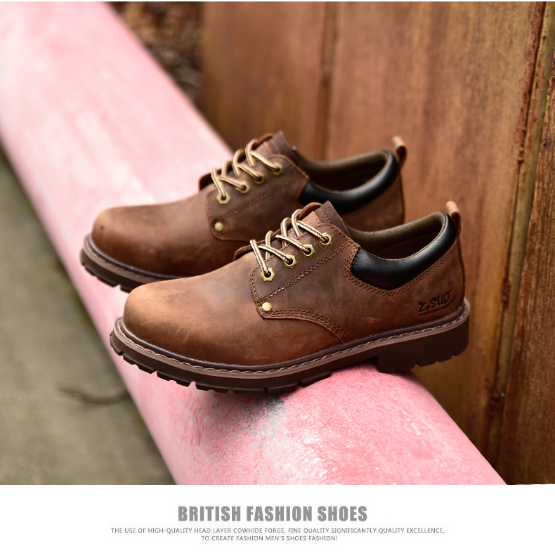 19 New Fashion Men's Genuine Leather Shoes Men Lace Up Oxford Flats Spring Autumn Comfortable Handmade Moccasins Men Shoes 9