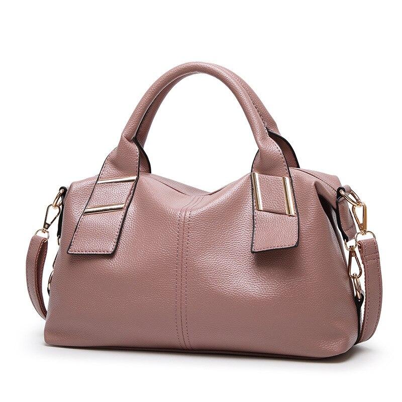 2019 femmes de la mode meilleure qualité sacs à main sacs à bandoulière casual femmes nouveau style rose couleur sac femmes