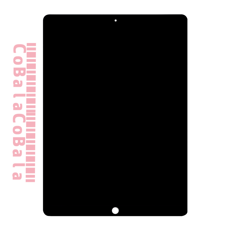 5Pcs DHL Free Black/White For iPad Pro 12.9 (2015 Version) A1584 A1652 LCD Display Touch Screen Digitizer Panel Assembly free shopping dhl 10pcs lot quality a for iphone 5 lcd white and black touch screen digitizer full assembly