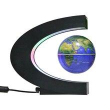 2020 Floating Levitazione Magnetica Globo Mappa del Mondo di Luce Lampada Della Sfera di Illuminazione Ufficio A Casa Decorazione Globo Terrestre della novità della lampada