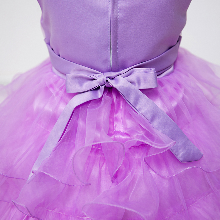 summer baby girl party dress princess birthday wear of 7 years old 4