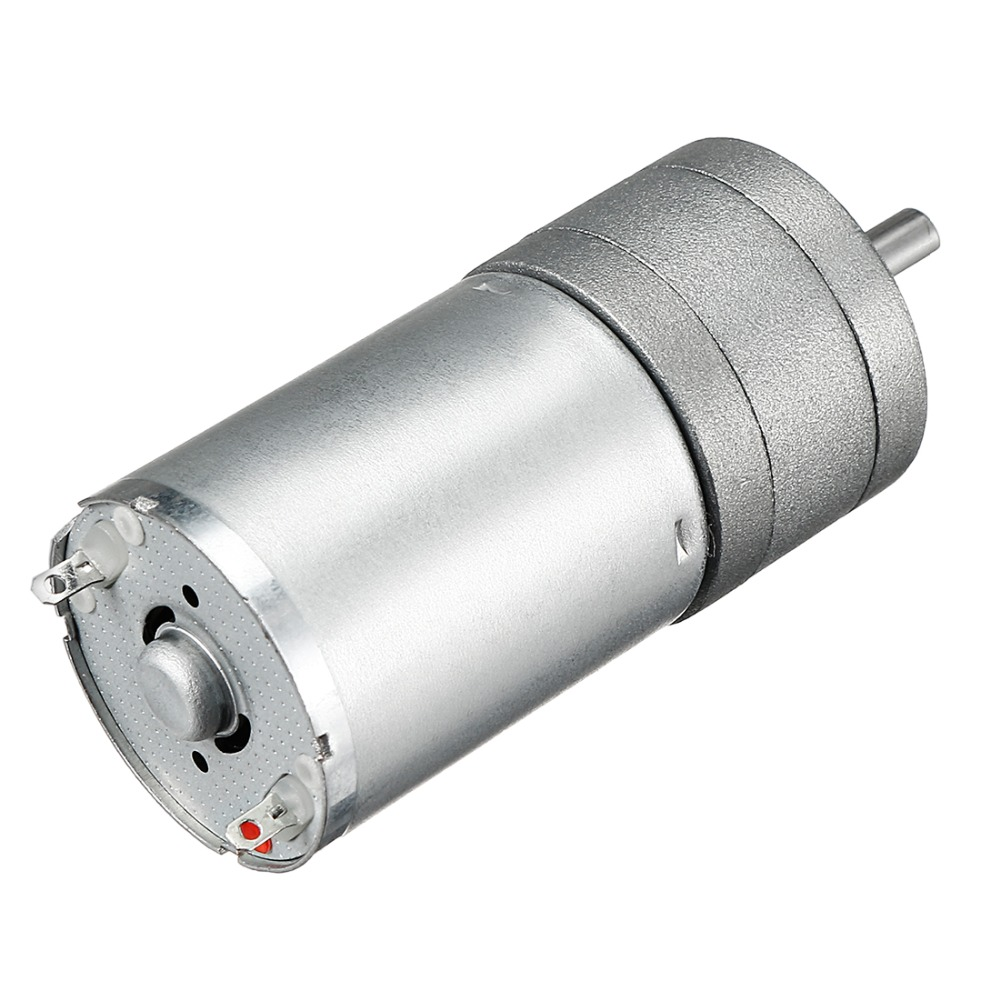 Image 2 - Uxcell Newest DC mini Gear Motor 6V 80mA 1363RPM 0.1kg.cm Loading Torque High Temperature Resistance DIY Electrical Appliances-in DC Motor from Home Improvement