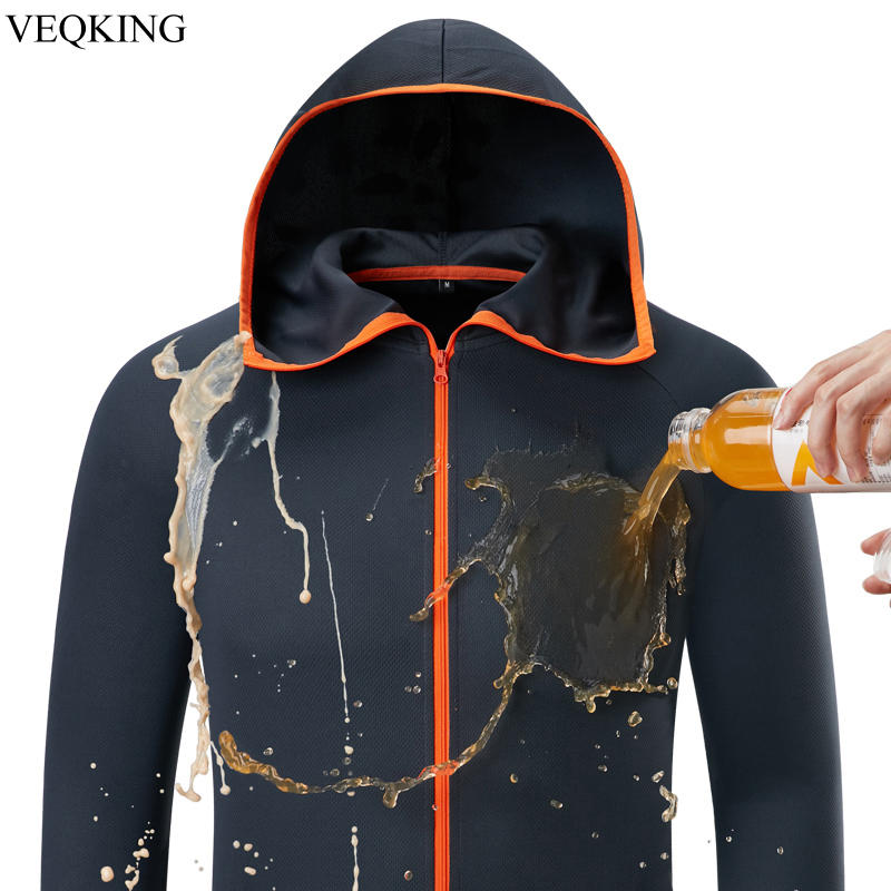 Hiking-Jackets Outdoor-Clothing Water-Repellent Ice-Silk Hydrophobic Fishing Quick-Dry