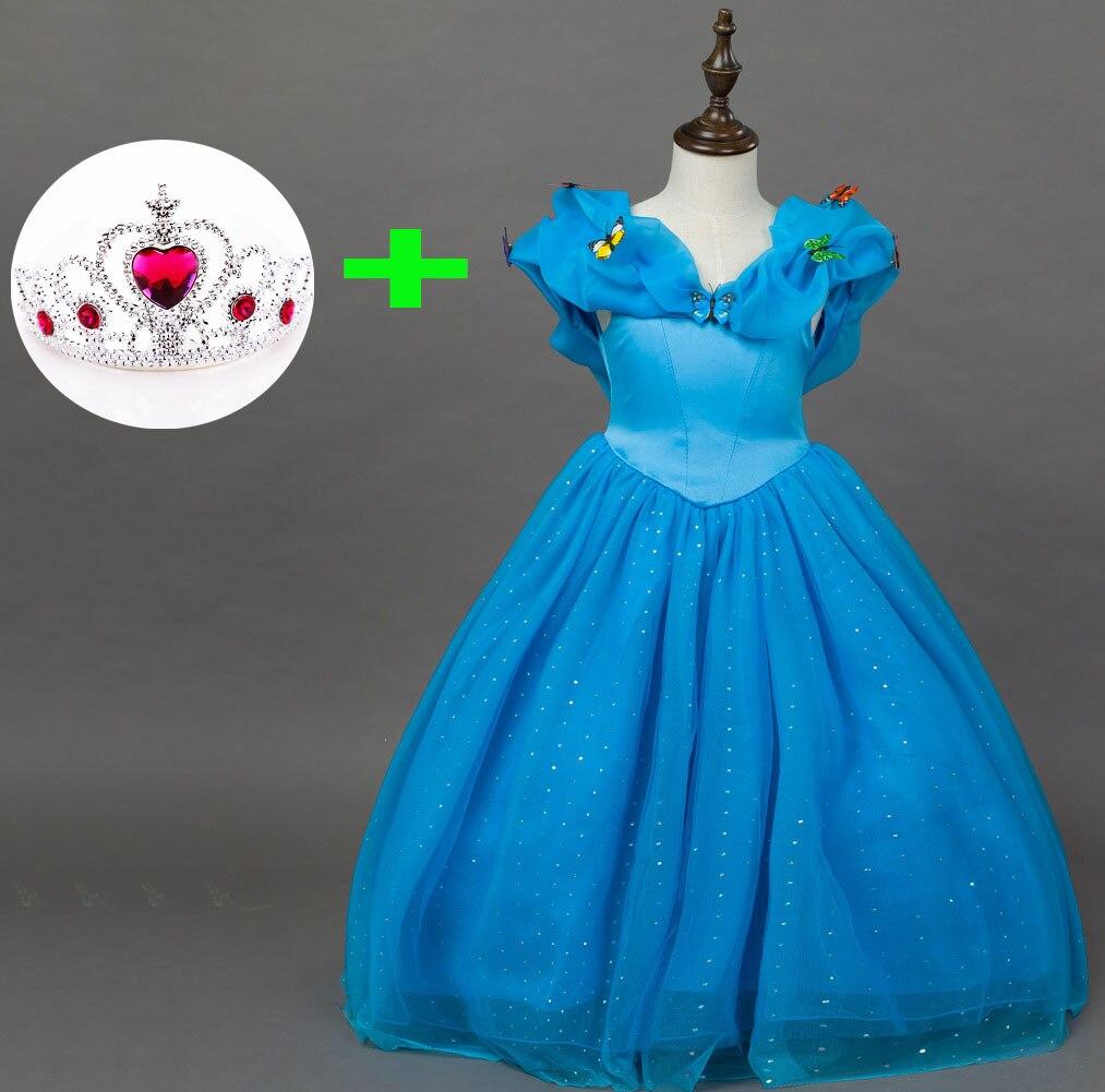 calidad capas de la fiesta de disfraces de halloween princesa cenicienta vestido de fiesta