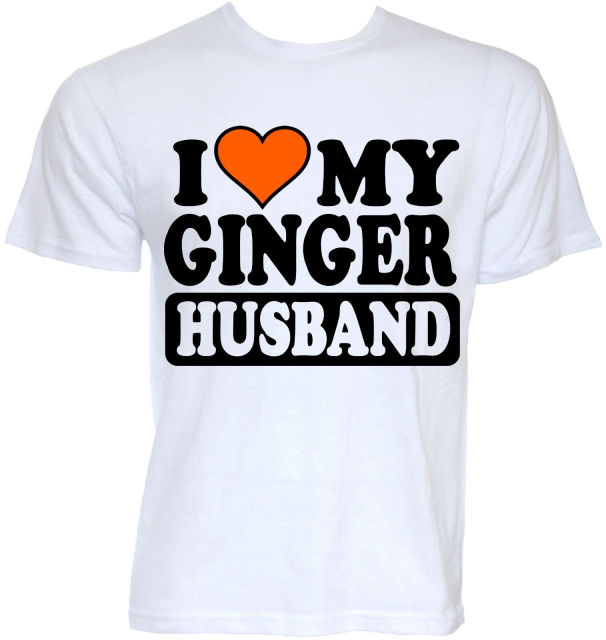 39c600ec MENS FUNNY COOL NOVELTY GINGER HUSBAND REDHEAD JOKE SLOGAN GIFTS IDEAS T-SHIRTS  Fashion T Shirt Hipster Cool Tops