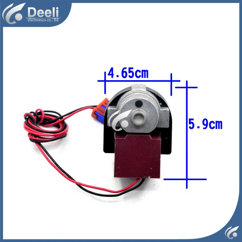 good working for Double door switch refrigerator fan motor motor D4612AAA22 for refrigerator freezer zwf 02 2 12v dc refrigerator fan motor