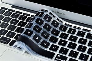 Image 3 - Корейская и английская накладка на клавиатуру с американской раскладкой, силиконовый чехол для MacBook Air 11, 11,6 дюйма, A1465, A1370 искусственная кожа