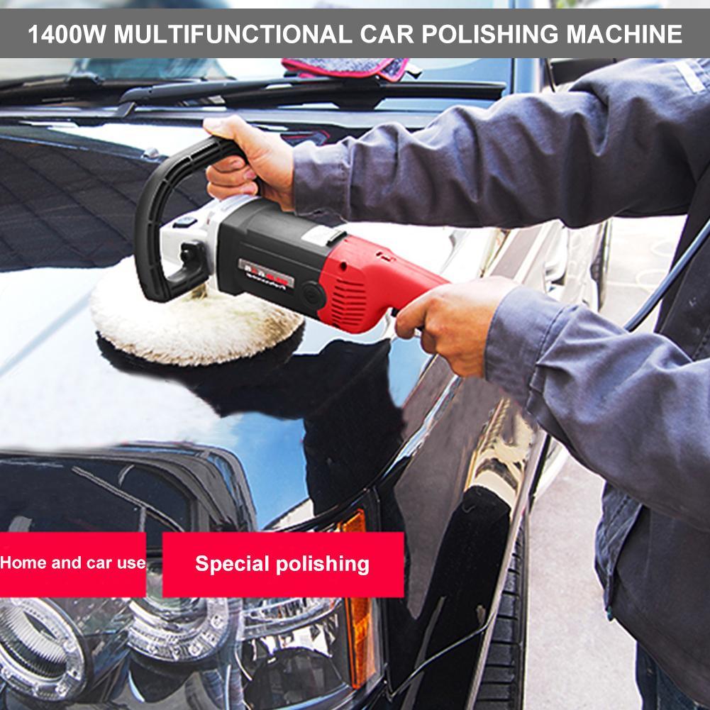 Ponceuse de voiture Machine à épiler 1400 W 220 V polisseuse à vitesse Variable voiture polisseuse électrique cireuse Machine Automobile meubles