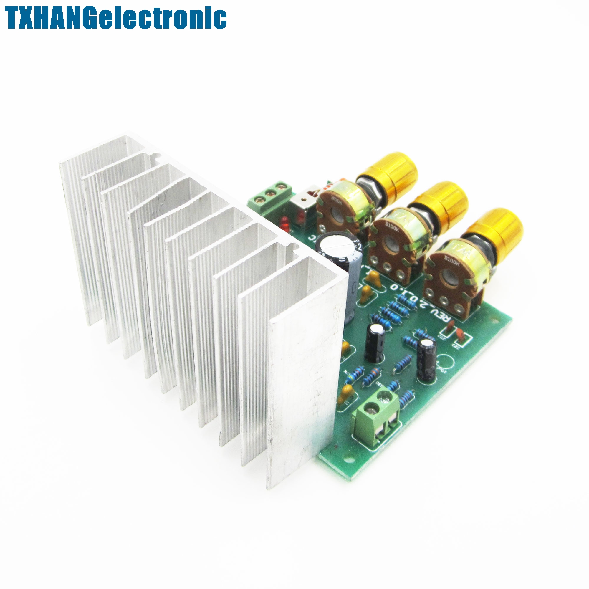 Tda2030a Hi Fi 20 Dual Channel 15w 15w2 Amplifier Board Hifi Audio Circuit Lm1875 Diy Compatible In Integrated Circuits From Electronic Components Supplies On